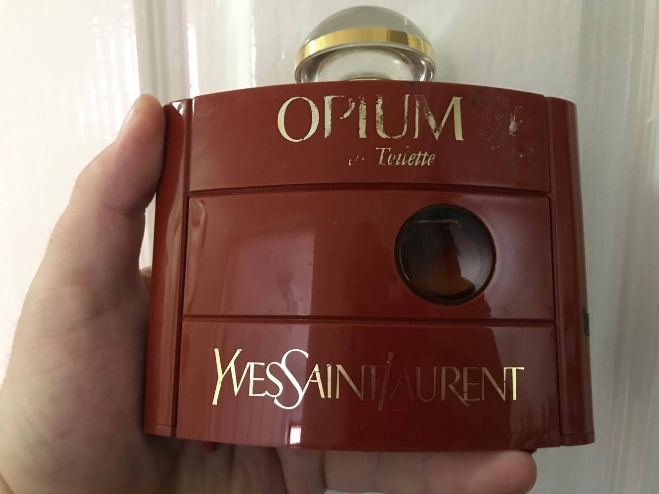 Vintage Opium by Yves Saint Laurent Sept 2017