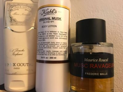 Annick Goutal Musc Nomade Kiehl's Original Musk Malle Musc Ravageur July 2018